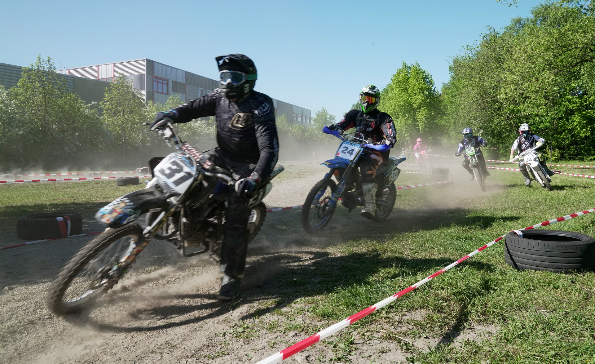 Mofa-Enduro Action 2018