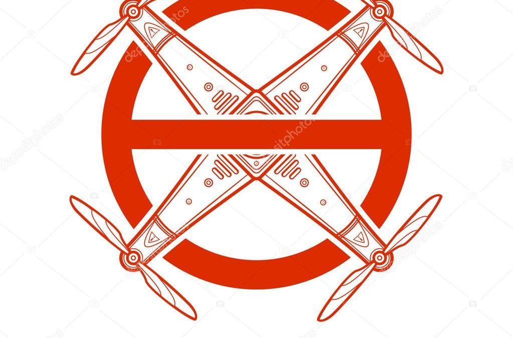Schild No DroneZone