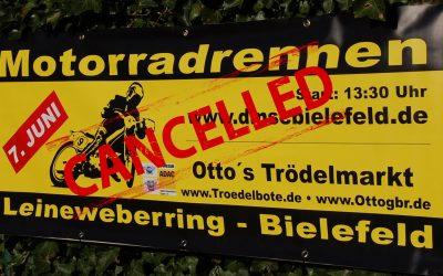 Int. ADAC Motorradrennen abgesagt
